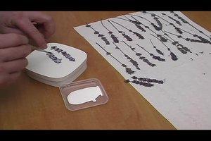 Basteln mit Lavendel - so gelingt eine hübsche Schachtel