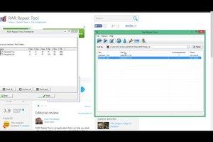 RAR-Dateien reparieren - mit Freeware geht's so