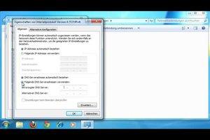 Einen DNS-Fehler beheben - so geht's unter Windows 7
