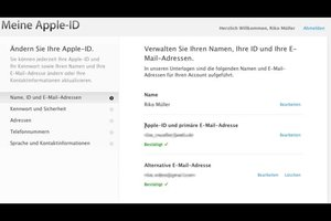Neue Apple ID anlegen - so funktioniert's