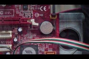 Im PC die Batterie für das BIOS überprüfen und wechseln - so geht's