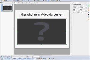 In OpenOffice Impress das Video Format einstellen - so gehen Sie vor