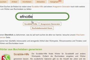 VIDEO: Wortgenerator aus bestimmten Buchstaben - Tipps