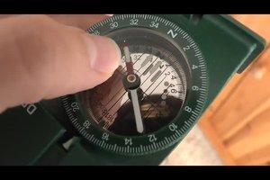 Wie funktioniert ein Kompass? - So finden Sie Himmelsrichtungen heraus