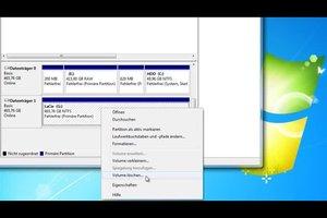 500-GB-Festplatte von NTFS auf FAT32 formatieren - so geht's