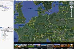 Bei Google Earth den Maßstab einstellen - so geht's