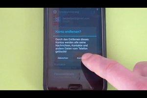 Google-Konto vom Handy löschen - so geht's