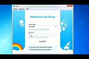 Skype - Konferenz schalten