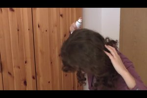 Haare entladen - so geht's