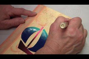 Bucheinband selber gestalten - kreative Ideen