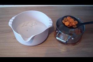 Karotten blanchieren