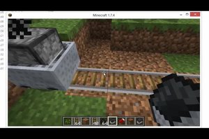 Minecraft: Mit dem Minecart fahren - so geht's