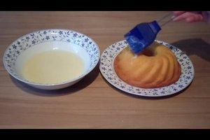 Weiße Kuchenglasur - Rezept für Zitronenguss