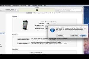 iPhone neu aufsetzen - so gehen Sie vor
