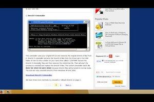 DirectX richtig installieren und deinstallieren - Anleitung