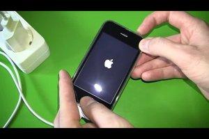 iPhone zeigt nur noch Apfel - was tun?