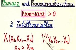 Kovarianz richtig erklären - Anregungen
