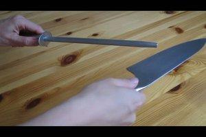Wetzstahl benutzen - so werden Ihre Messer wieder richtig scharf