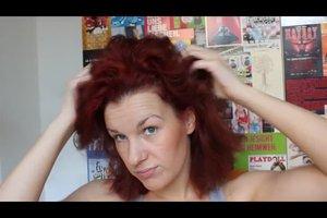 Rot gefärbte Haare - so erhalten Sie die Farbintensität