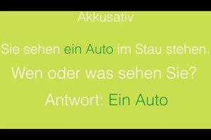 Akkusativ, Dativ, Genitiv und Nominativ - Deutsche Fälle einfach erklärt