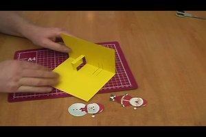 Pop-up-Karten selber basteln - Anleitung für Weihnachtskarten