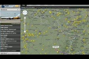 Flightradar - so verfolgen Sie Flugrouten online