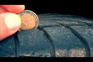 Reifenprofil messen - Anleitung