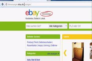 Bei eBay Kleinanzeige inserieren - so geht's
