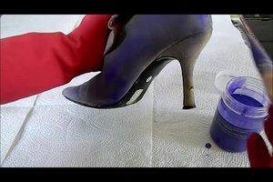 Lederschuhe einfärben - so machen Sie es