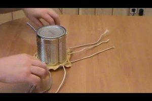 Trommel bauen - Bauanleitung für eine einfache Trommel