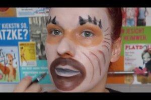 Schminktipps als Affe - so geingt das perfekte Affen-Make-up