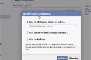 Facebook - im Chat Personen blockieren