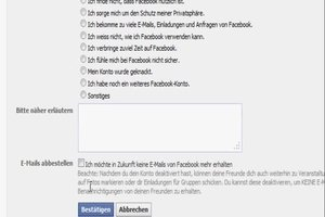 Wie deaktiviert man Facebook? - so geht's