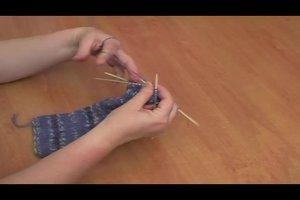 Stulpen stricken für Anfänger - so geht's