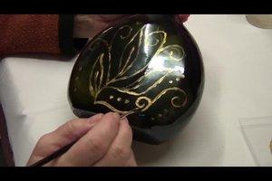 Acrylfarbe auf Glas auftragen - das ist zu beachten