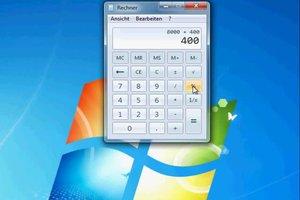 Prozentrechnung mit dem Windows Taschenrechner - so geht's