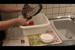 Seifenlauge herstellen - Anleitung