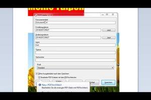 Mit WordPad in PDF umwandeln - so gelingt's