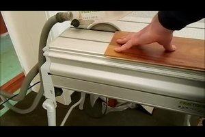 Laminat schneiden - das sollten Sie beachten