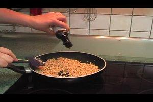 Soja-Produkte richtig anbraten - darauf sollten Sie achten