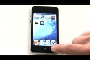 Was kann ich tun, wenn mein iPod abgestürzt ist?
