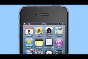 iPod Touch - in iOS 5 Batterieanzeige in Prozent anzeigen