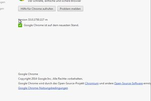 Chrome aktualisieren - so funktioniert's