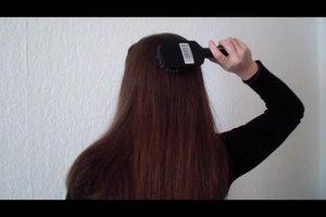Glatte Haare über Nacht - so klappt's