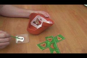 Weihnachtliche Teelichter basteln - Anleitung