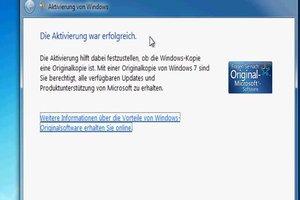 Die Echtheit der Windows-Kopie bestätigen - so gehen Sie vor