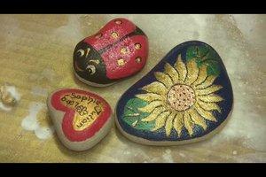 Garten: Steine bemalen - kreative Ideen