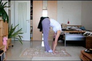 Yoga - Anleitung für den Sonnengruß