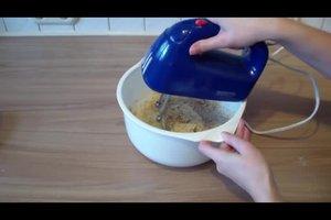 Teig für Rührkuchen selber machen - eine einfache Anleitung