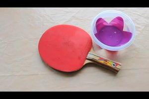 Tischtennisschläger reinigen - so machen Sie es richtig